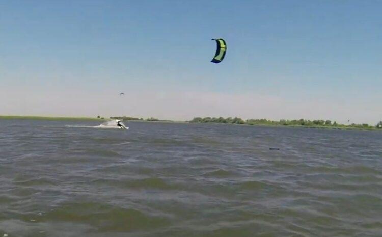 Kitesurf na Jegričkoj Jun 2020