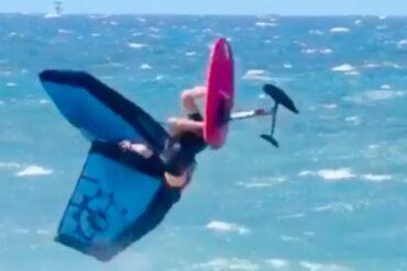 JEFFREY SPENCER IZVEO JE PRVI WATER WINGSURF BACK FLIP