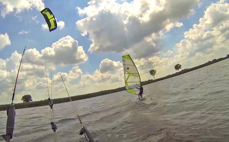 Lep dan proveden sa prijateljima. Kitesurs / Windsurf / Srbija / Vojvodina